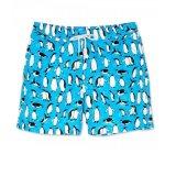 Shorts di nuoto della spiaggia di sauna stampati estate di compressione di modo
