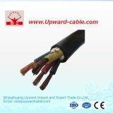 10.0mm2 Solar-Gleichstrom-elektrischer Strom-Kabel UL-8AWG