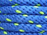 폴리에스테 단단한 끈목 밧줄 12 착색되는 18의 물가