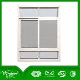 Aluminiumrahmen-Doppelt-schiebendes Glasfenster