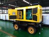 большой агрегатный конкретный насос 30m3/Hr при смеситель приведенный в действие тепловозным генератором