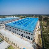 Amplia gama prefabricados almacén de estructura de acero