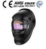 De Engelse auto-Verdonkert Helm van Lassen 379 (wh-501)