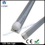 Indicatore luminoso di portello più freddo ambulante di forma di v LED, indicatore luminoso luminoso eccellente del negozio della lampada LED del tubo dell'UL 8FT 60W T8 LED