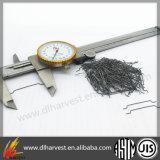 Shortcrete 증강 콘크리트를 위한 중국 낮은 탄소 강철 강철 섬유 W-Lcs/50/100he
