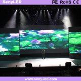 ビデオ段階として屋内P4フルカラーの使用料のLED表示