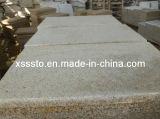 По конкурентоспособной цене ржавыми желтый G682 Sandblasted плитки