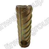 プレキャストコンクリートのアクセサリ(M14X75)の円形のフェルールの糸の鋼鉄持ち上がるソケット