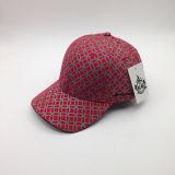 Topshowポリエステル昇進のためのサンドイッチバイザーが付いている安く赤い野球帽