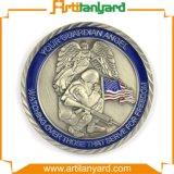Подгонянная монетка сувенира металла способа