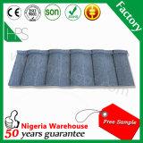 prix d'usine métallique couleur couché en pierre tôle de toit
