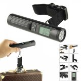 Nouveau avec 8 LED Torch Portable Travel Luggage Weinging Scale