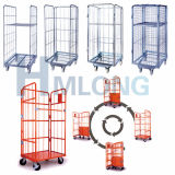 Verschachteln von einem Frame Wire Galvanized Roll Mesh Container