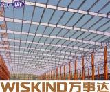 El enmarcar de acero de la estructura de la luz del marco del espacio del calibrador prefabricado de la luz