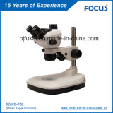 Микроскоп лаборатории главного качества сползает для микроскопии проекции