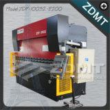 Placa CNC máquina de dobragem hidráulica
