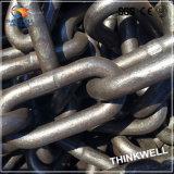 Catena a maglia lunga d'acciaio galvanizzata saldata per il fante di marina