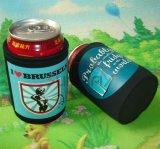 Kan de douane Afgedrukte Gedrongen Koeler van het Bier van het Neopreen Houder (BC0077)
