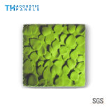 Painel de parede 3D decorativo da fibra de poliéster do painel acústico da prova da água para Hotal