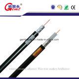 Cable del CCTV del cable coaxial Rg59 con potencia