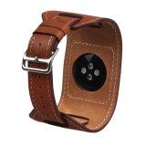 Para Apple Assista a faixa de relógio em pele genuína para Apple Assista tirante com fivela de fecho 38mm/42mm
