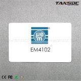 Tansoc RFID Em4102プラスチックカードによって印刷されるカスタマイズされたISOのカードLf
