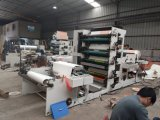 La flexographie Coupe du papier de l'impression 4 couleurs de la machine 850mm