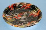 원형 초밥 테이크아웃 포장 Wholessale 다채로운 인쇄 플라스틱 상자