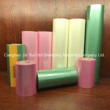 Lámina para gofrar caliente del papel de carrete de película del traspaso térmico para Headwear