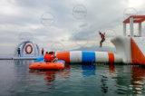 giochi gonfiabili giganti personalizzati materiale della sosta dell'acqua della tela incatramata del PVC di 0.9mm