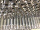 구리 그리고 알루미늄 두 배 금속 공기 냉각기에 있는 합성 탄미익 관
