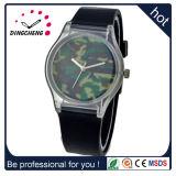 Horloge van de Manier van de Pols van het Kwarts B van het Plastic Geval van het silicium het Materiële voor Jonge Mensen