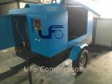 mobiel van 5m3/Min 7bar de Goedkoopste/Beweegbaar/van de Dieselmotor Towbale Compressor van de Lucht