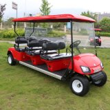 Populäres China-preiswertes elektrisches Golf-Auto mit 6 Seaters