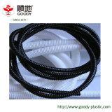 Boyau ondulé ignifuge flexible électrique en plastique de câble de fil de PVC