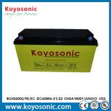Batterie d'acide de plomb d'AGM pour le stockage de sauvegarde 12V 150ah d'UPS