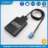 En voiture de la radio sans fil aux Adaptateur Chargeur de voiture USB émetteur récepteur MP3 avec carte SD