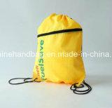 Promotionnel peut ajouter le sac de cordon en nylon d'utilisation de paquet de sous-ventrière de logo