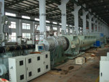 линия штрангпресса трубы HDPE 160-400mm
