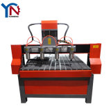 Machine de découpage artificielle de commande numérique par ordinateur de pierre en bois bonne en métal de la Chine