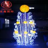 110-220V Waterproof o diodo emissor de luz 3D que modela a lâmpada para a decoração ao ar livre do Natal