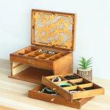 Organisateur cosmétiques Coffrets cadeaux en bois le bois d'une commode tiroir coffrets à bijoux