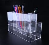 Акриловый Макияж для монтажа в стойку для хранения щетки / Косметический организатор /карандашом держателя/инструмент имеет