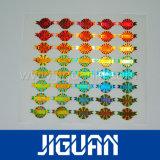 Sticker van het Hologram van de Veiligheid van de Kwaliteit van Hith de Duurzame Gouden Glanzende Zelfklevende