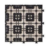preço 12X12 barato da telha de assoalho cerâmica da porcelana resistente ao calor bloqueando a venda quente da base plástica no alemão