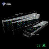 Indicatore luminoso programmabile di alluminio dell'acquario dell'acqua salata 5FT LED dell'alloggiamento della Cina