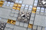 Het gouden Mozaïek van het Glas van het Kristal van de Premie van de Folie Mozaïeken Gekleurde