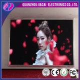 Écran d'affichage publicitaire publicitaire LED 3 mm intérieur