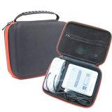 Shockproof schützender harter EVA-Reißverschluss-Kasten mit Schaumgummi-Speicher