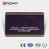 Tarjeta de papel ultraligera de encargo del boleto de la entrada de la talla MIFARE (r) EV1 RFID